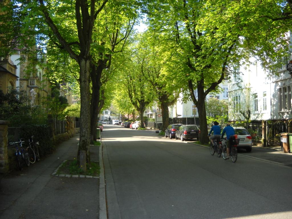 Ferienwohnung villa am stadtgarten freiburg for Designhotel stadtgarten freiburg